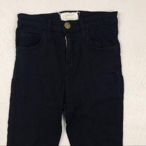 Current/Elliott Jeans - Current/Elliot The Highwaist Skinny Black Jeggings